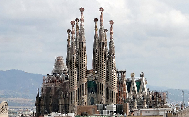 Un cop quedi finalitzada, saps quantes torres tindrà la Sagrada Família?