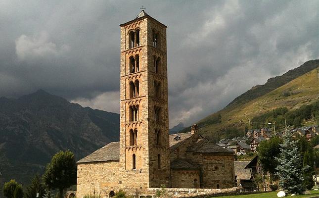 Actualment podem observar a l'església romànica de Sant Climent de Taüll?