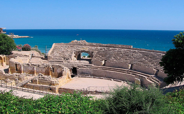 Quin emperador romà va viure dos anys a Tarraco i va iniciar la gran transformació de la ciutat?
