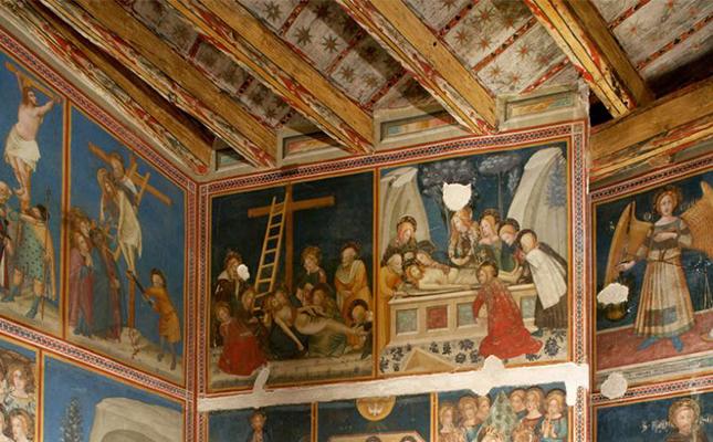 La capella de Sant Miquel del Reial Monestir de Pedralbes segueix l'estil pictòric del?