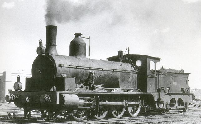 On es conserva la locomotora més antiga de tot Espanya?
