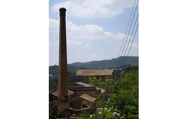 L'energia de quin riu feia funcionar la Colònia Vidal de Puig-reig?