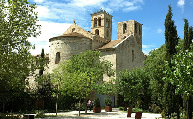 Quin il·lustre pintor tingué com a residència familiar d'estiueig el monestir medieval de Sant Benet de Bages?