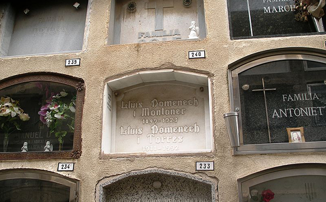 Saps quin és l'edifici pòstum de Lluís Domènech i Montaner a Barcelona?
