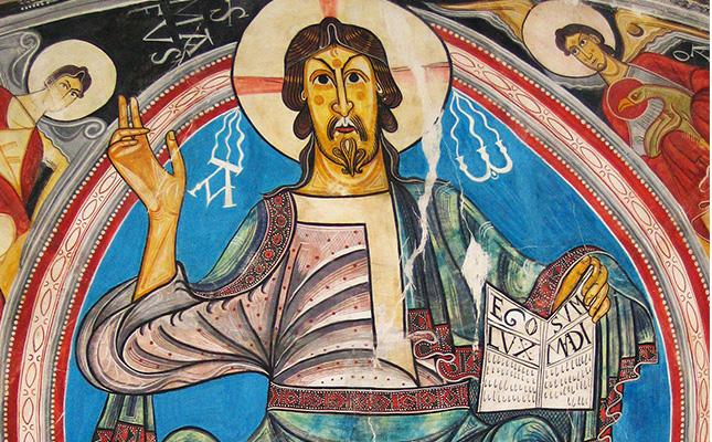 A quin artista s'atribueixen les pintures de l'església de Sant Climent de Taüll?