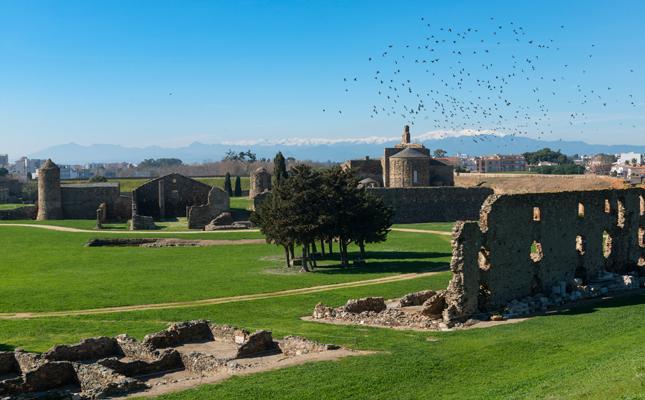 Quin rei va fer construir la Ciutadella i el castell de la Trinitat de Roses, al segle XVI?
