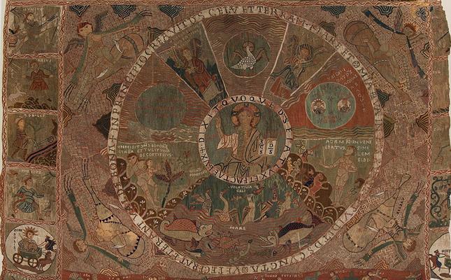 En quina catedral es conserva el magnífic 'Tapís de la Creació', un dels pocs testimonis tèxtils del romànic?